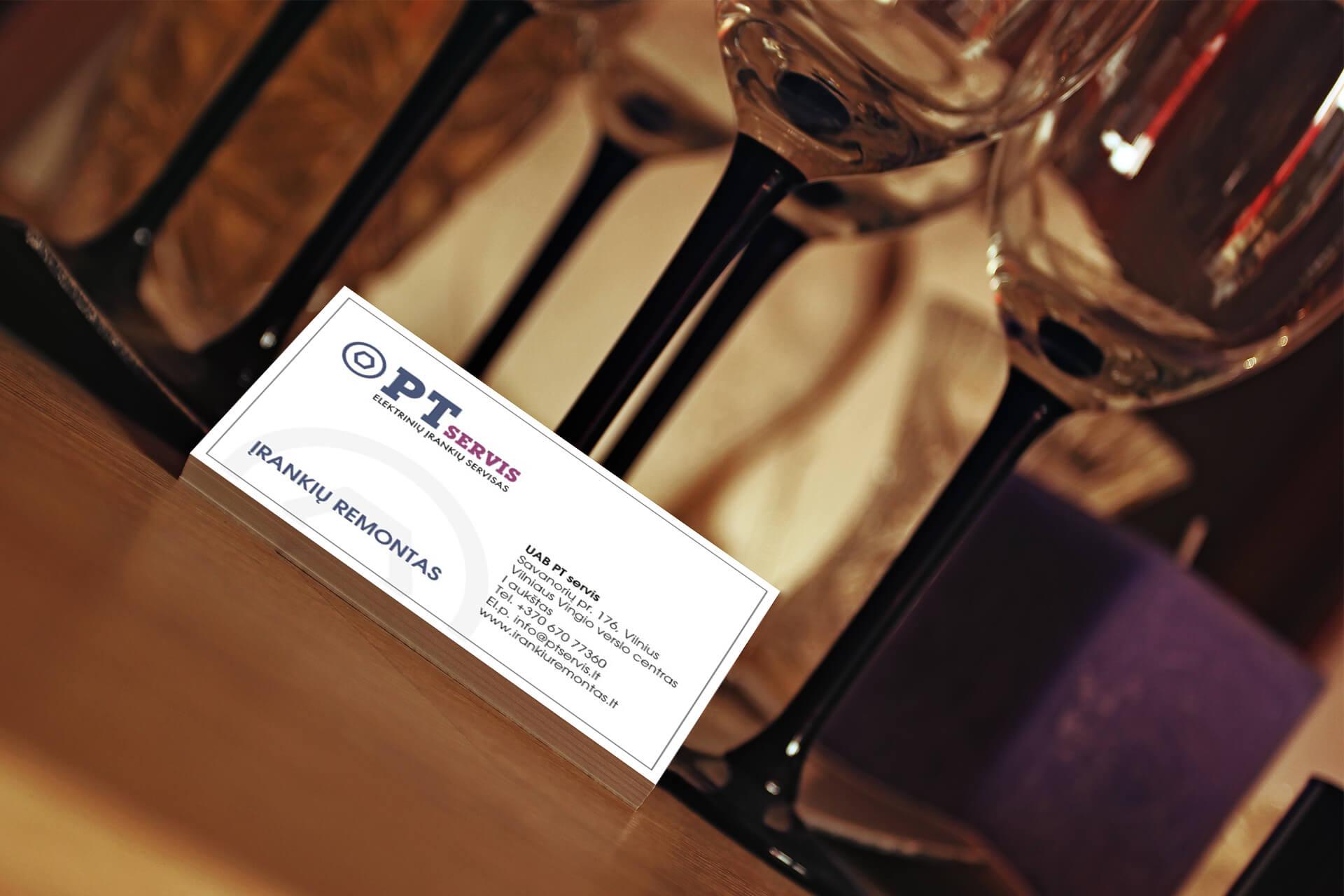 vizitinių kortelių gamyba, vizitinės kortelės